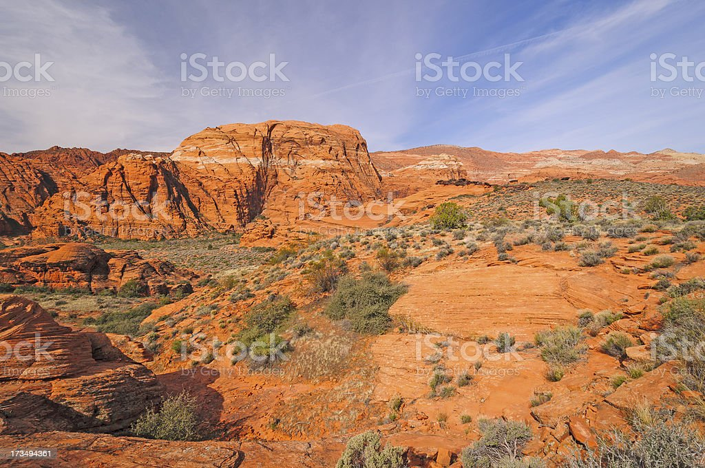 Red Rock Country Panorama stock photo