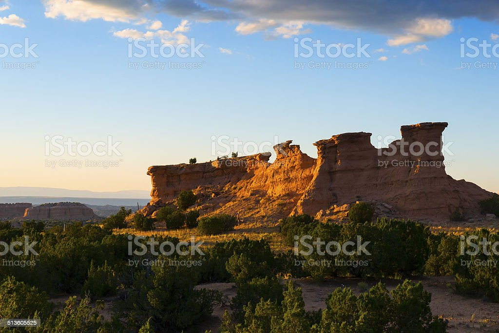 Red Rock Formation stock photo