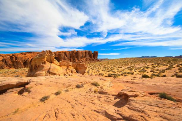 Red Rock Landscape, Southwest USA stock photo