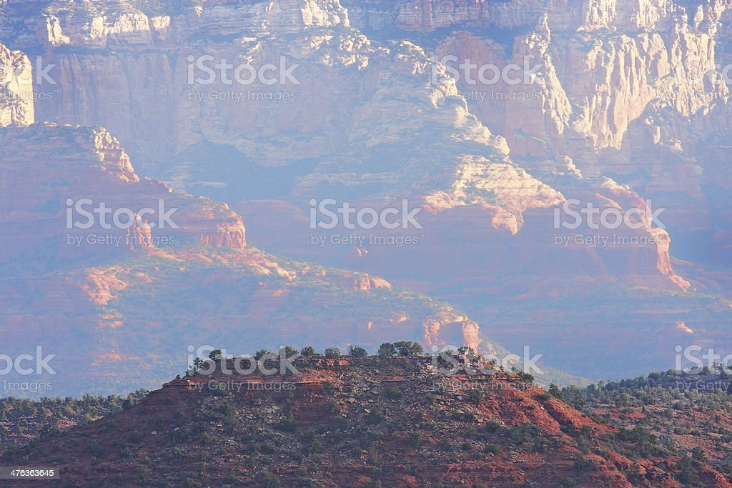 Red Rock Mesa Canyon Desert Wilderness royalty-free stock photo