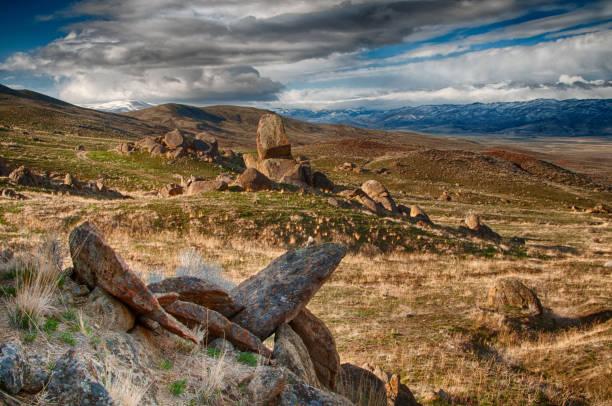 Red Rock Mountains van de Owyhees foto