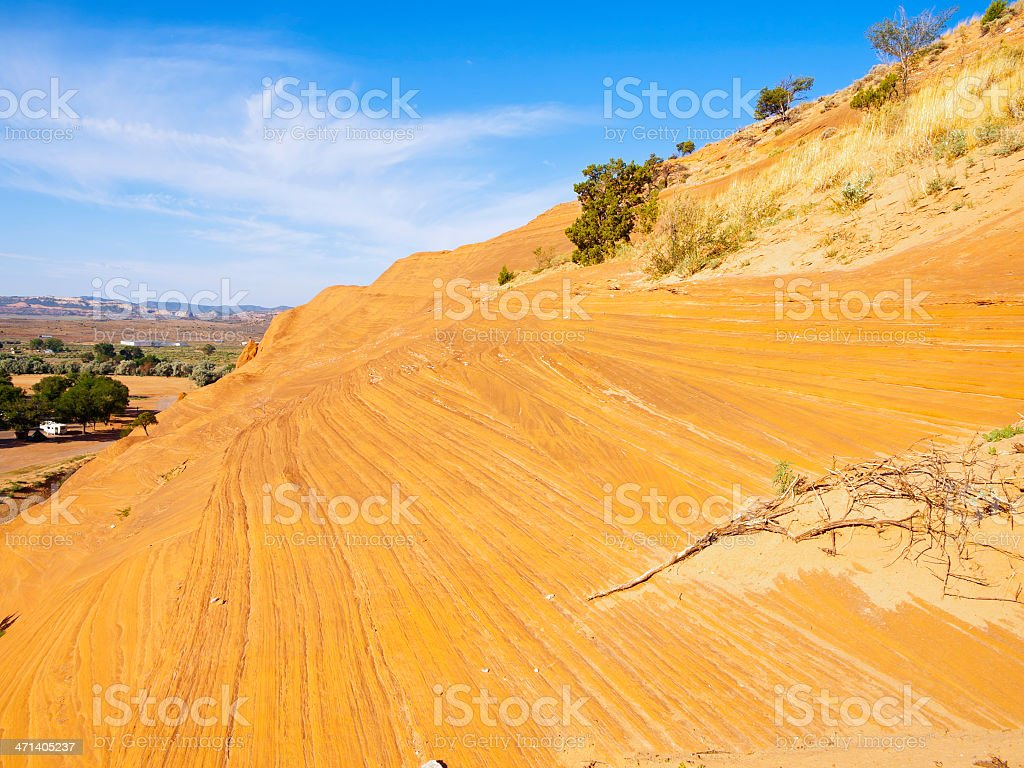 Red Rock State park stock photo