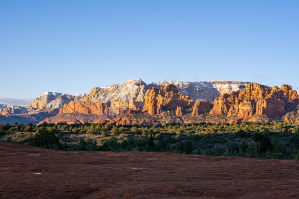 Red Rock Sunset In Sedona stock photo