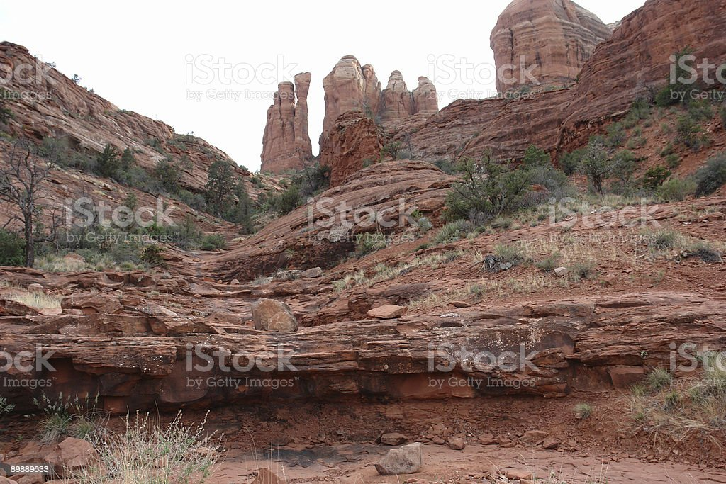 red rock vista royalty-free stock photo