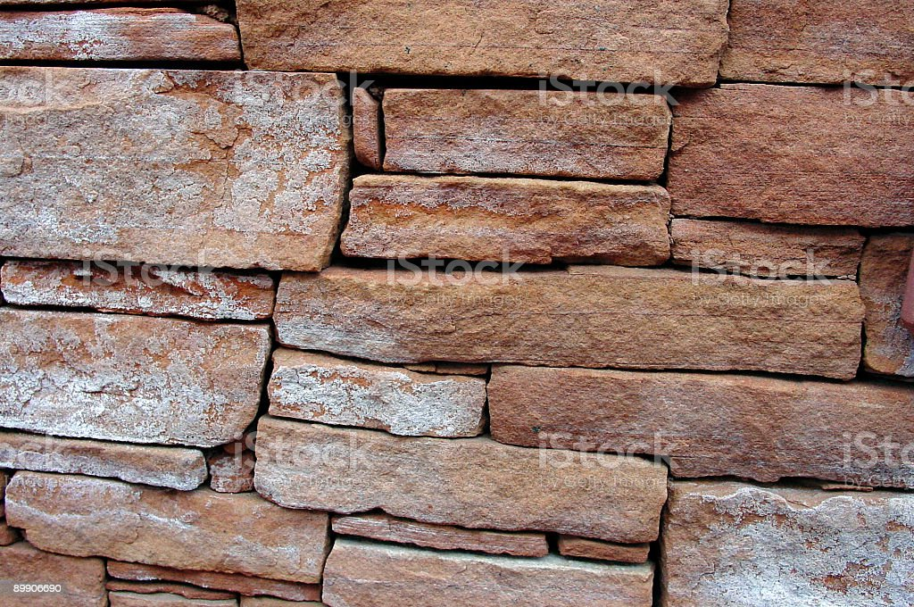 Red Rock Wall in Sedona [background] royalty-free stock photo