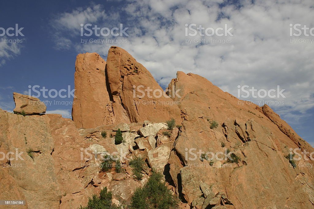 Red Rocks 2 royalty-free stock photo