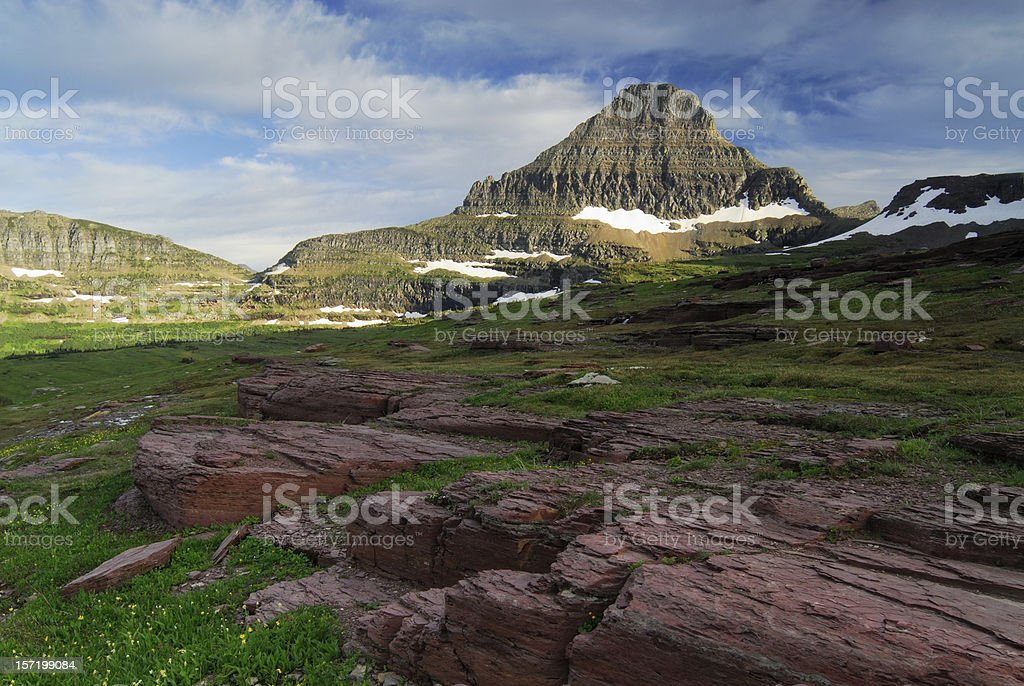 Red Rocks and Reynolds Mtn royalty-free stock photo