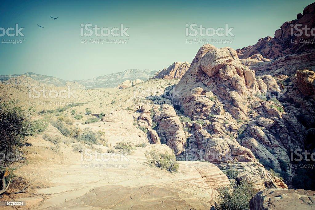 Red rocks canyon, Nevada, USA stock photo