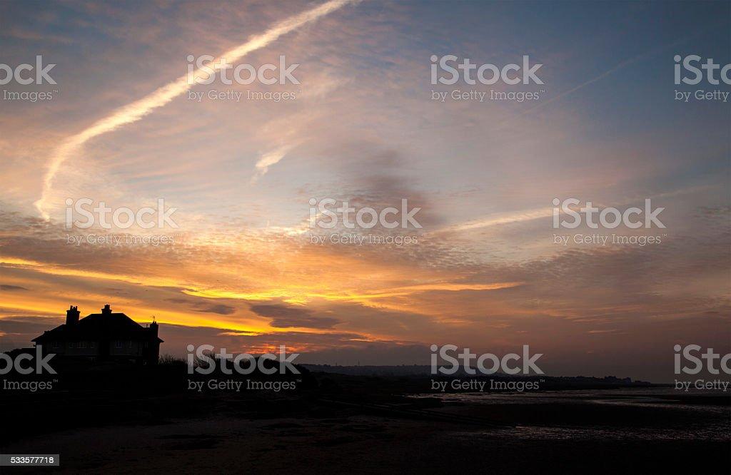 Red Rocks Dawn stock photo