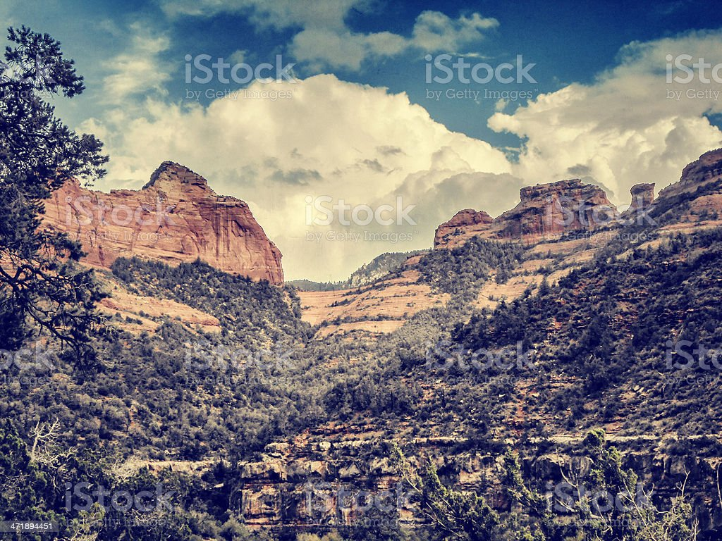red rocks in sedona royalty-free stock photo