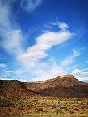 Red rocks near La Verkin in Utah, USA