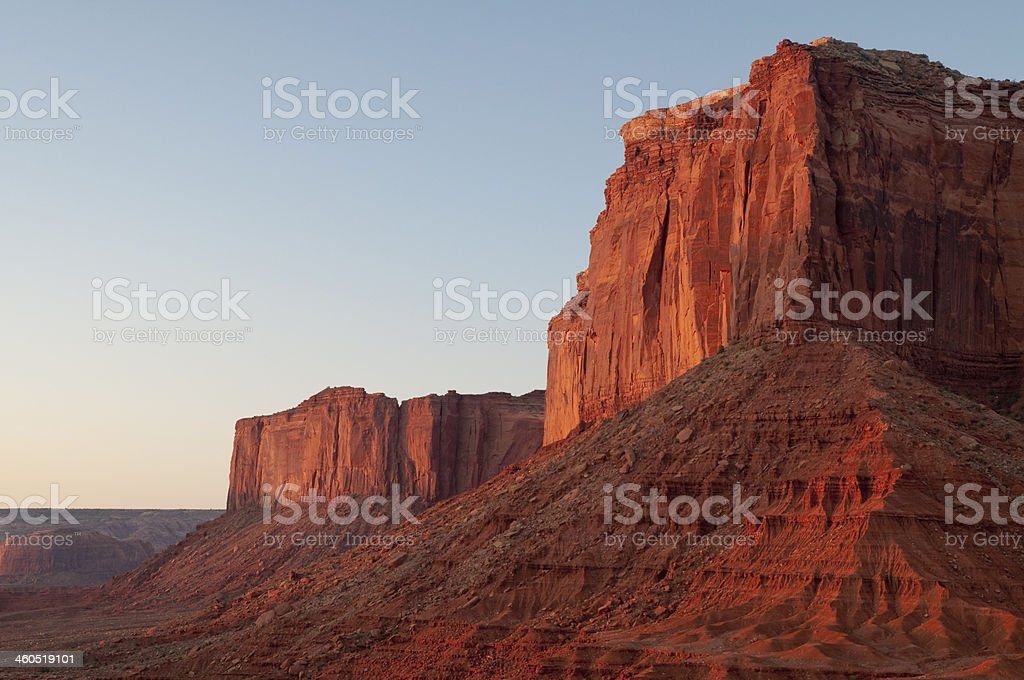 Red Rocks - Monument Valley royalty-free stock photo