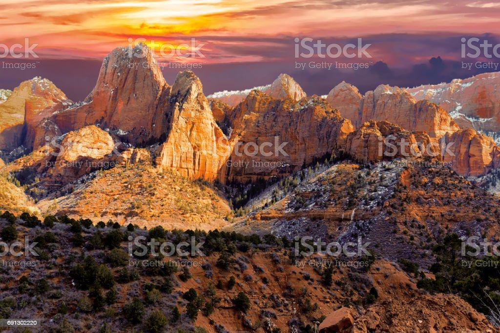 Roten Felsen. – Foto