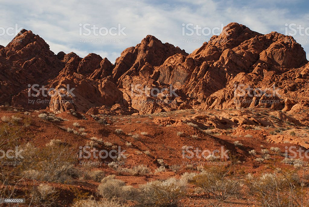 Red Rocks Valley of Fire State Park Nevada stock photo