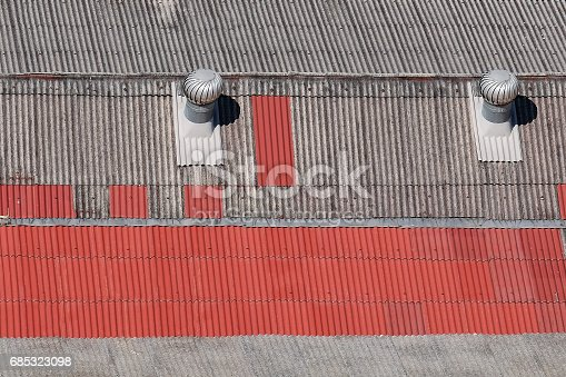 Red - roof tiles