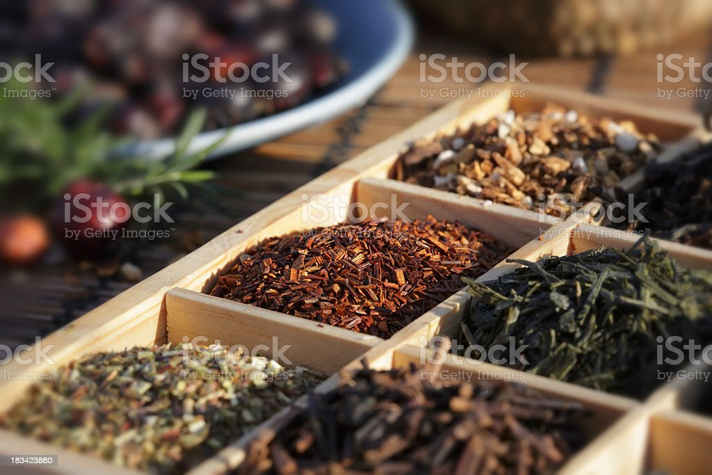 Red Rooibos Tea stock photo
