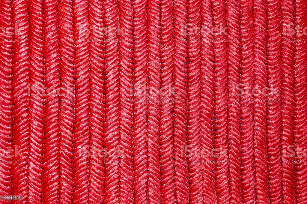 Red rope royalty-free stock photo