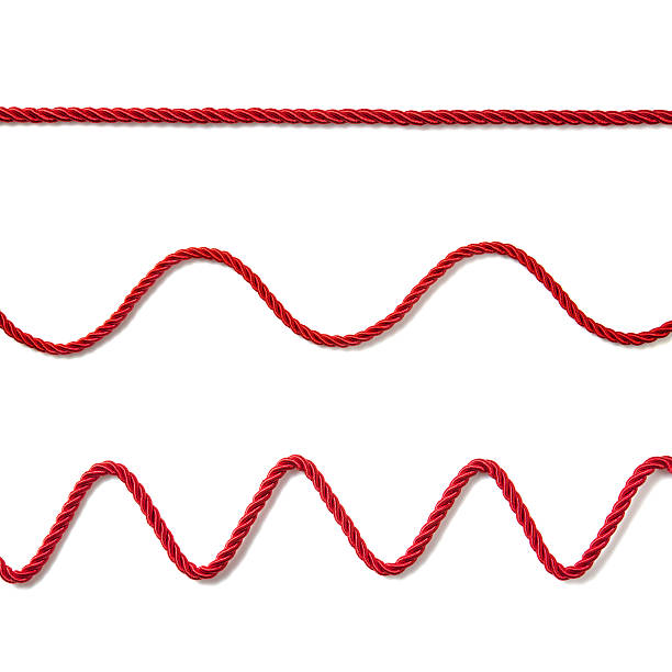 red ropes - string stock photos and pictures