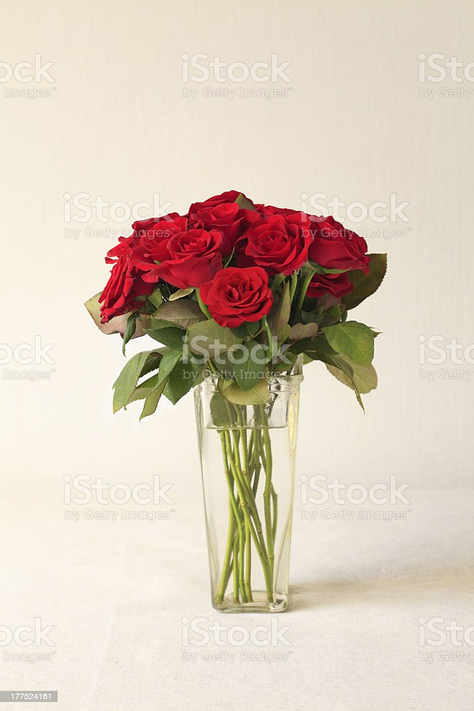 Red Rose Bouquet stock photo