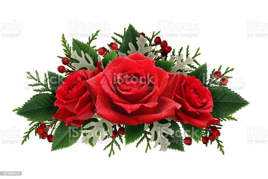 Arrangement De Fleurs Rose Rouge Photos Et Plus D Images De Amour