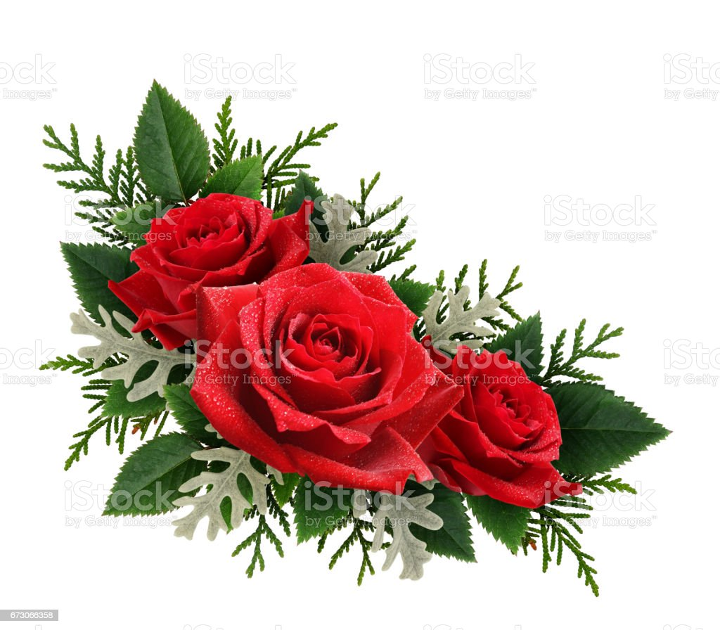 Red Rose Flowers Corner Arrangement Stock Photo More Pictures Of