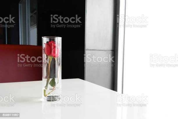 Red rose in a glass cup placed on table love concept taking by picture id838811582?b=1&k=6&m=838811582&s=612x612&h=2dxls8 jsl4ti dnb2blh2gl4dpxq9ch8ytzmt4t4y0=