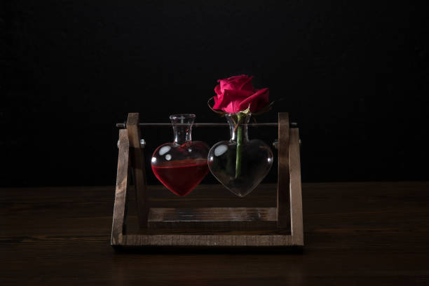 Royalty Free Love Potion Bottle Heart Shape Valentines Day Holiday