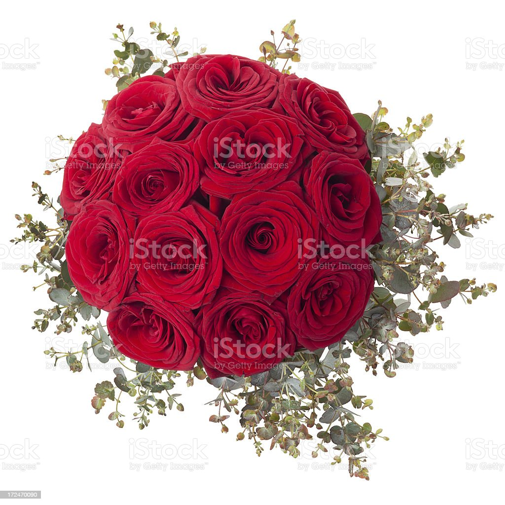 Red Roses boquet royalty-free stock photo