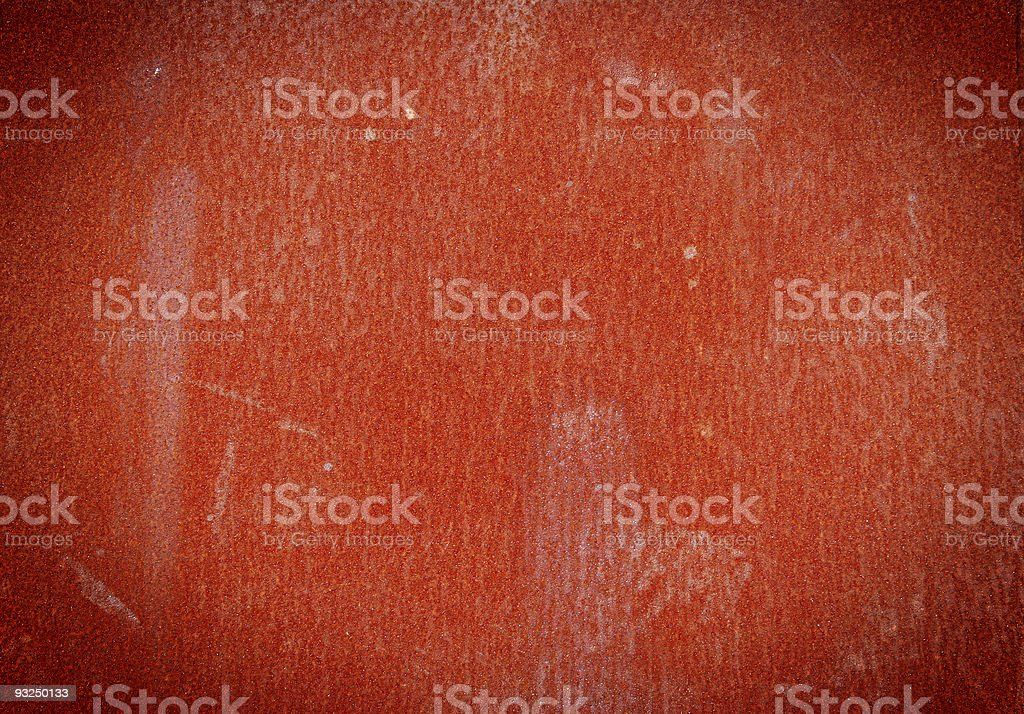Red Rust royalty-free stock photo