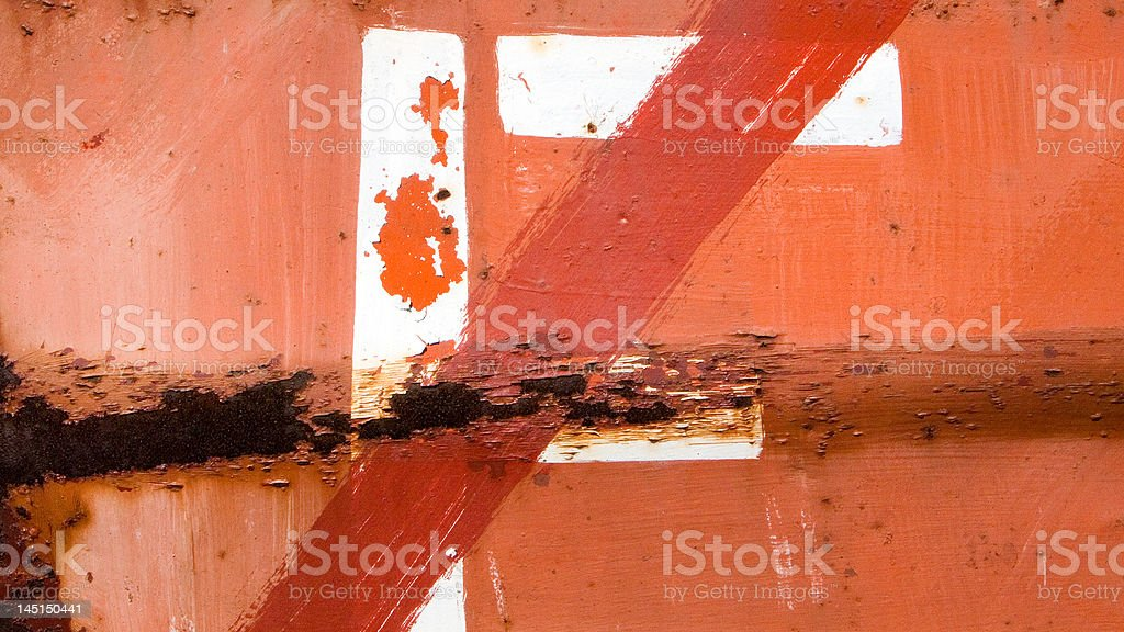 Red Rusty Background royalty-free stock photo