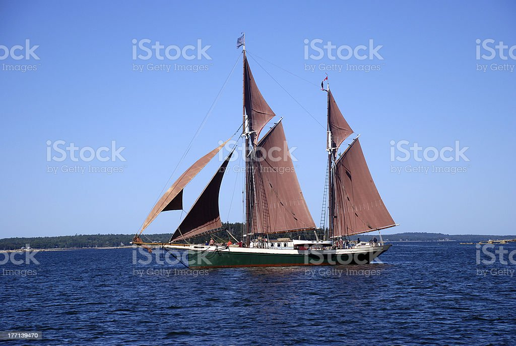 Red Sails Windjammer stock photo