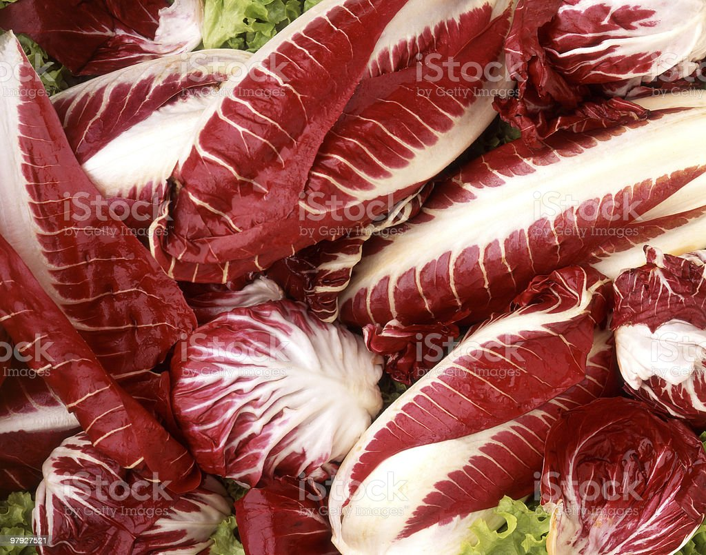 Red Salad royalty-free stock photo
