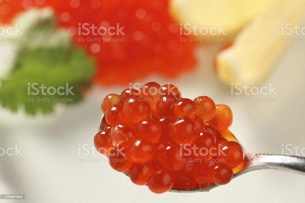 red Lachs-Kaviar – Foto