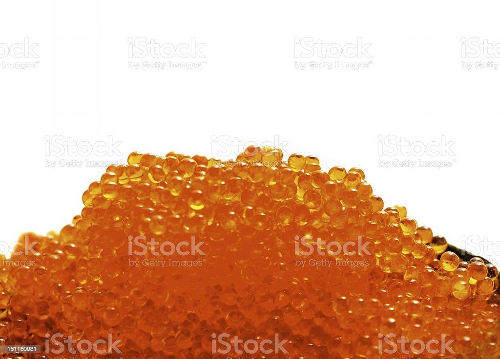 Red salmon caviar royalty-free stock photo