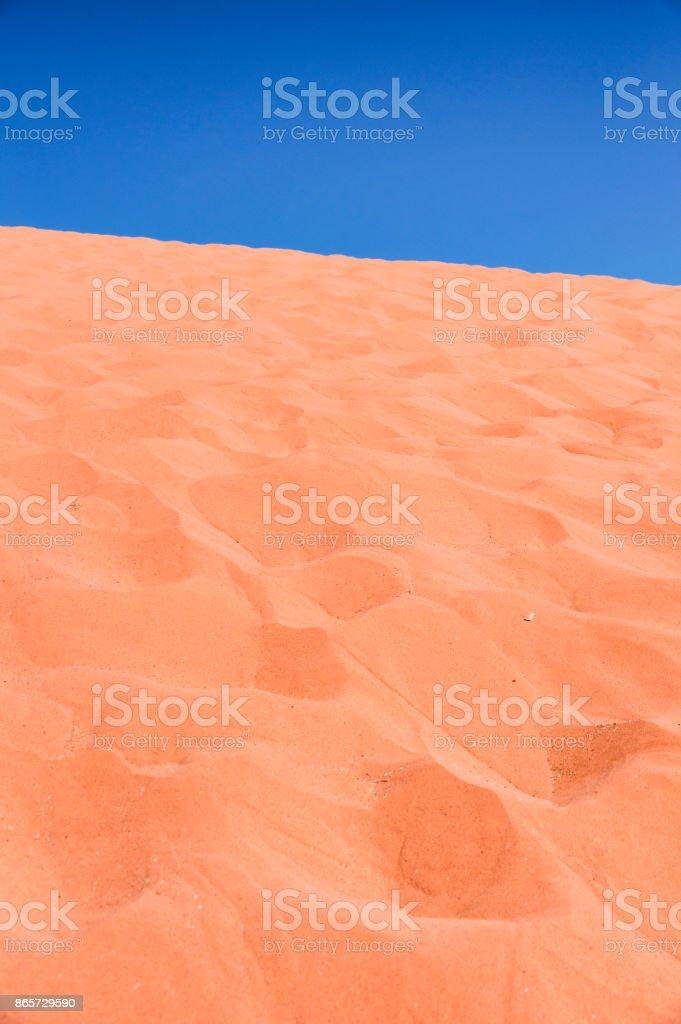 Kırmızı kum tepeleri stok fotoğrafı