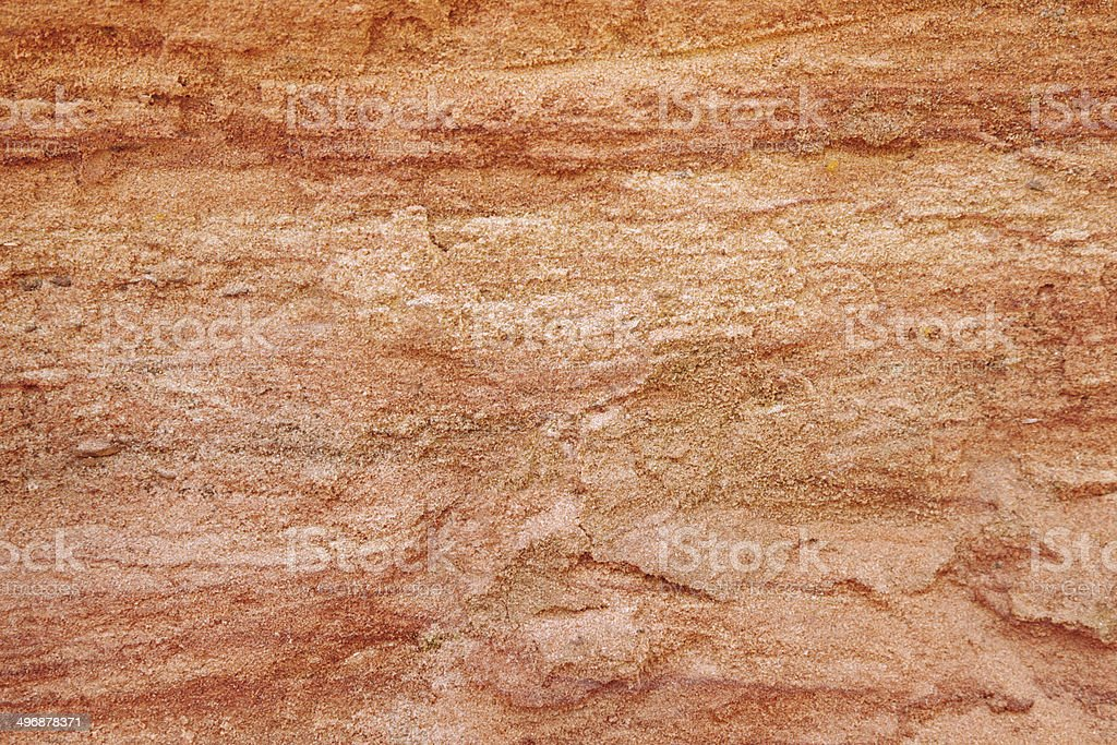 Red sand Sand texture Backgrounds Stock Photo