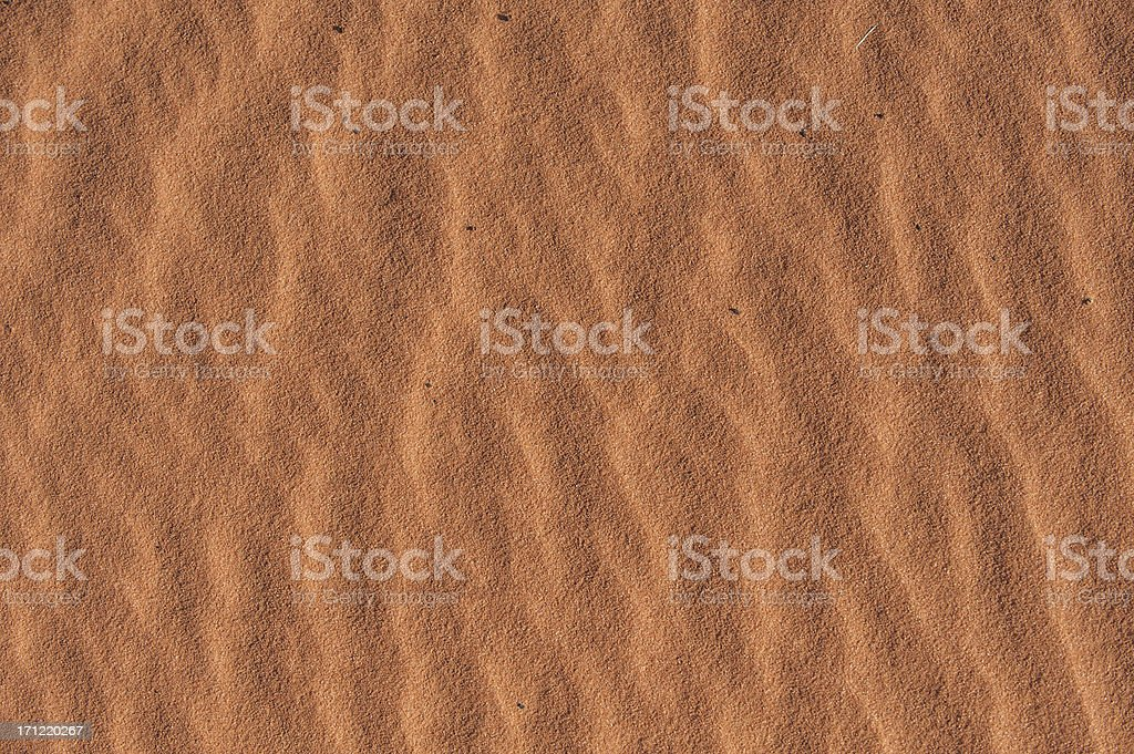 Red Sand Texture stock photo