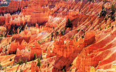 red sandstones in Bryce Canyon National Park
