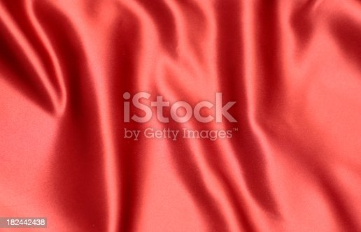 istock Red Satin Background 182442438