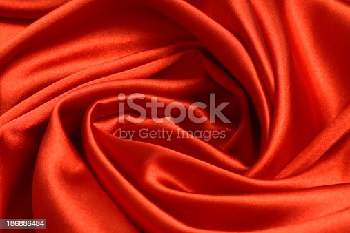 istock Red Satin Background 186886484