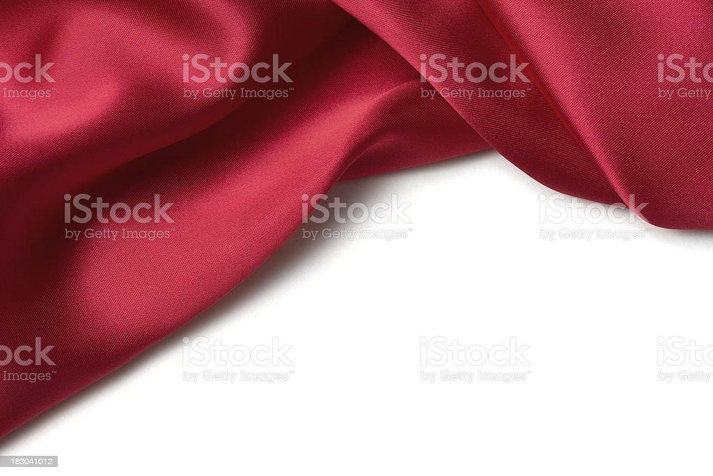Red Satin Border royalty-free stock photo