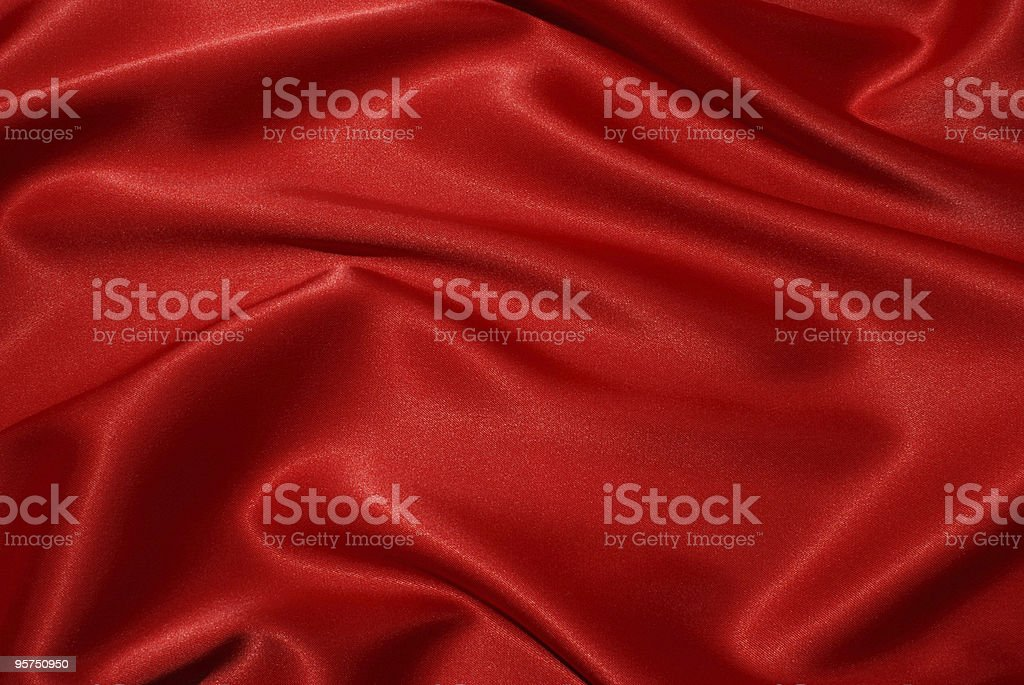 red satin texture royalty-free stock photo