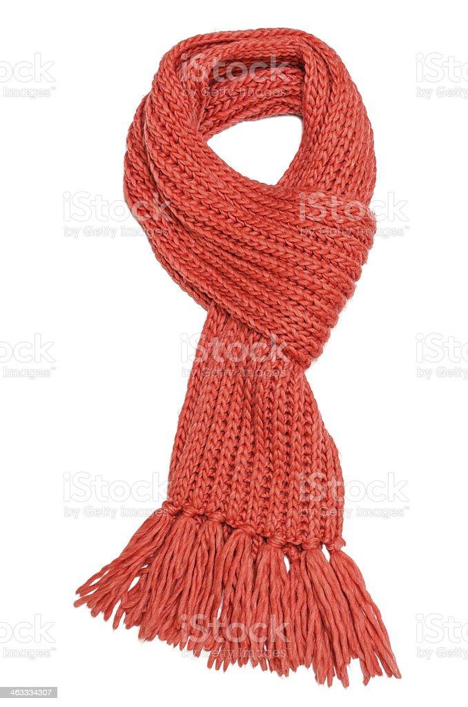 Sciarpa rosso - foto stock