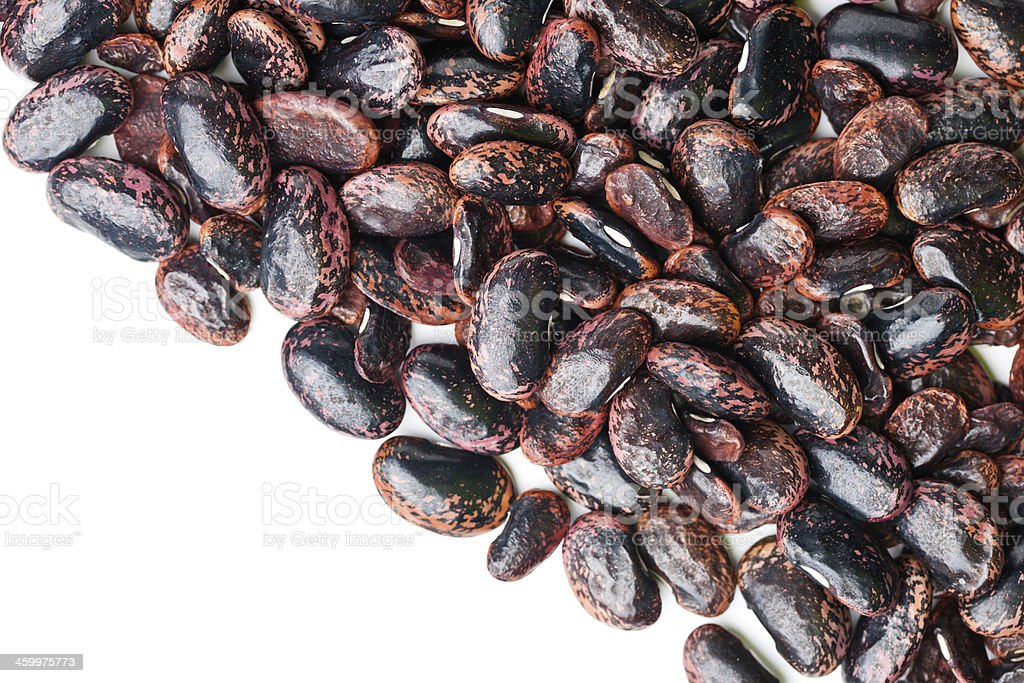 Red Scarlet Beans royalty-free stock photo