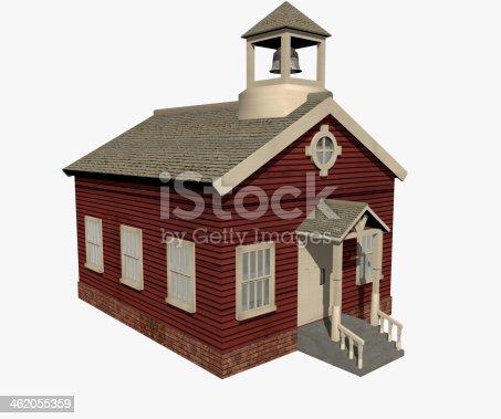 184640907 istock photo Red School 462055359
