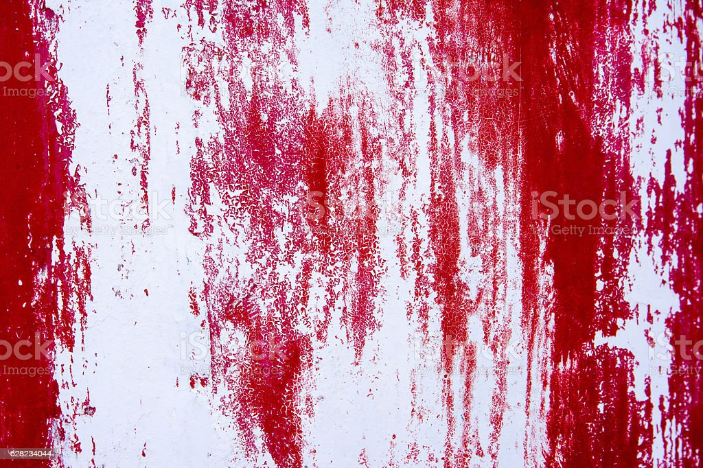 Red Scratch Concrete Wall Texture Background Royalty Free Stock Photo