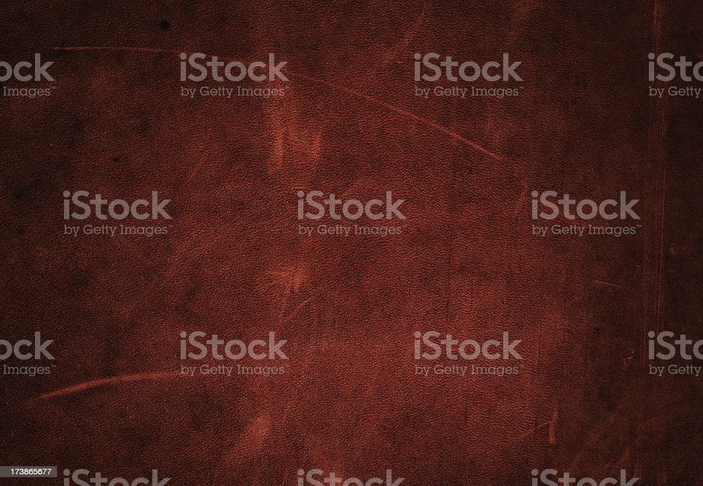 red scratched leather royalty-free stock photo
