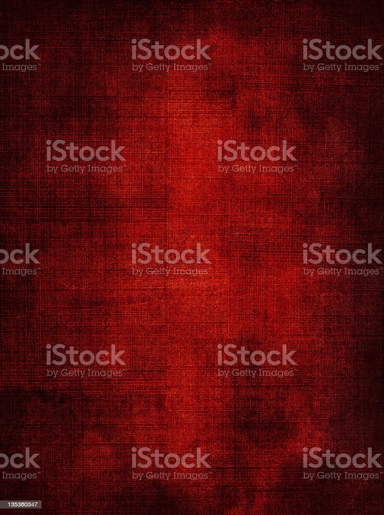 Red Screen Grunge stock photo