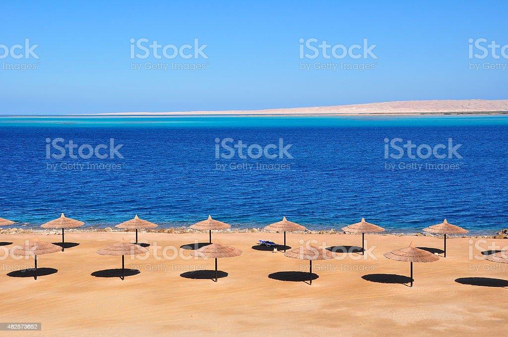 Red Sea, Hurghada Egypt stock photo