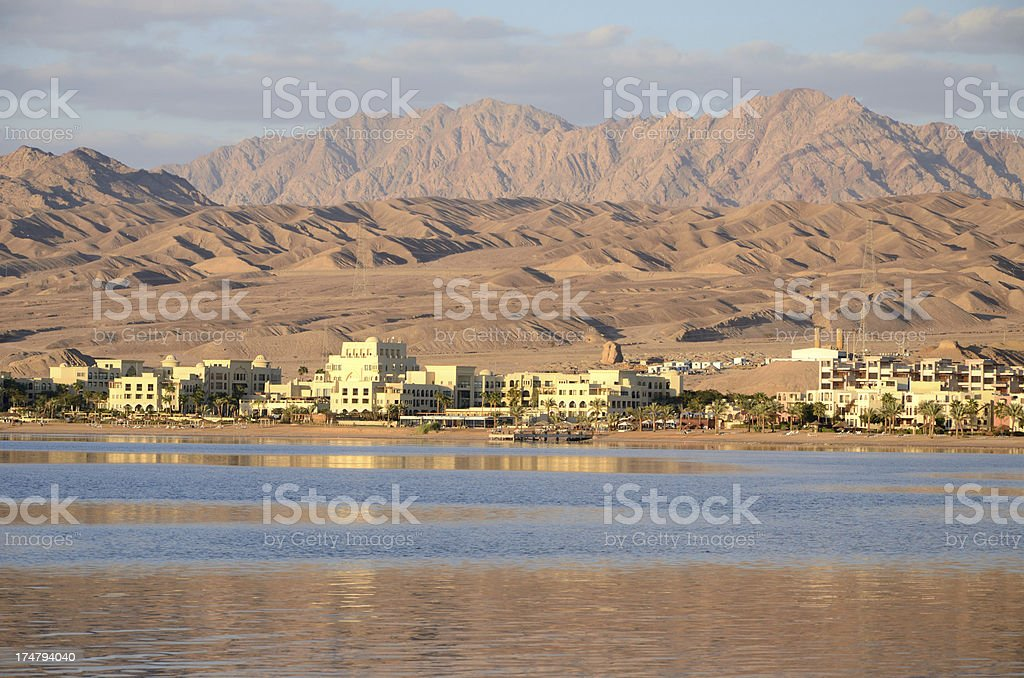 Red Sea resort stock photo